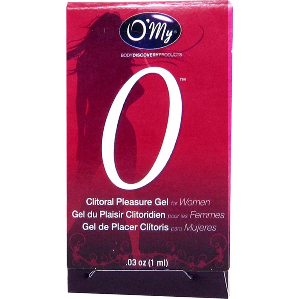 O/My Clitoral Pleasure Gel for Women 0.03 Fl.Oz 1 mL - View #1