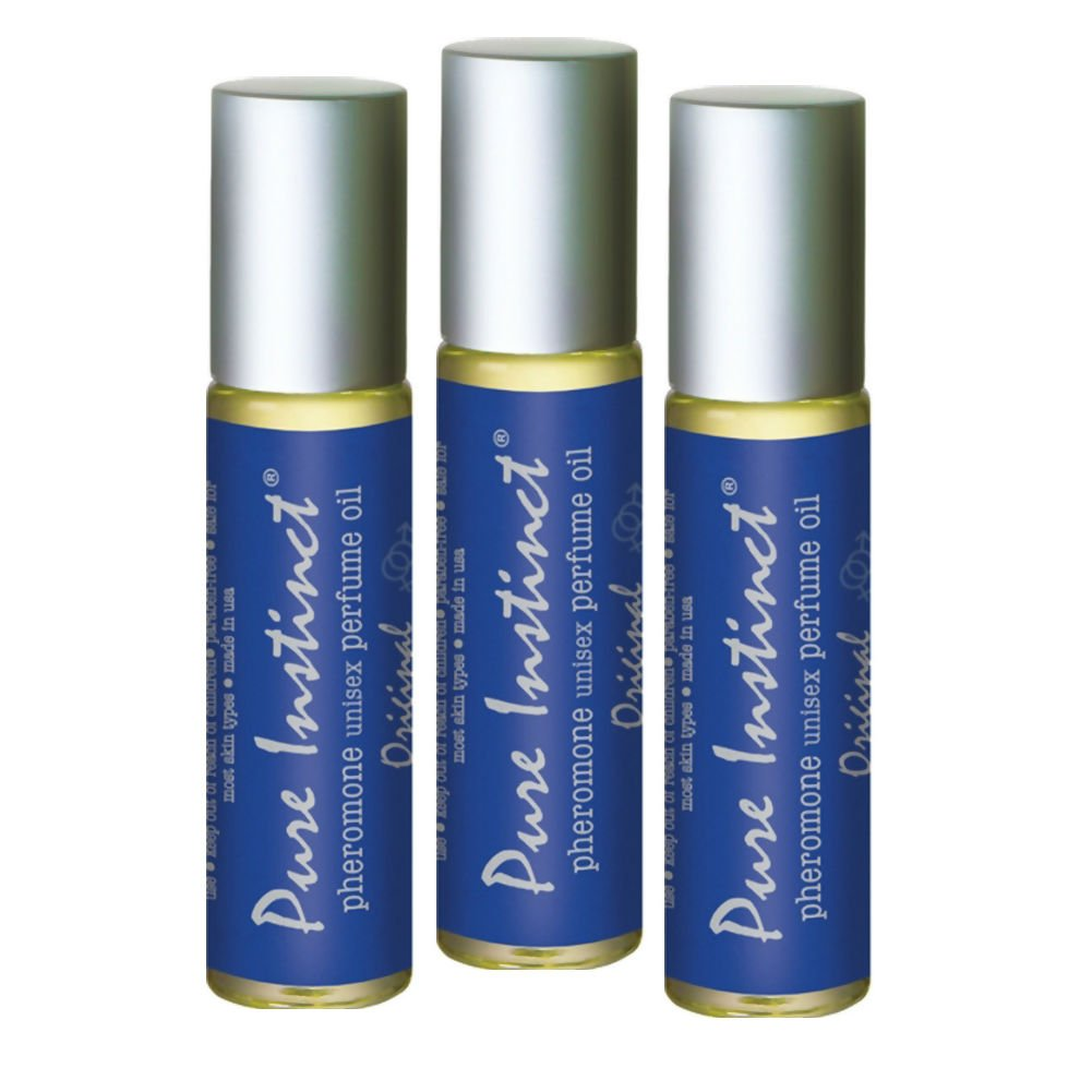 Pure Instinct Roll On Pheromone Infused Perfume Oil 3 Pack 0.34 Fl. Oz. Each - View #1