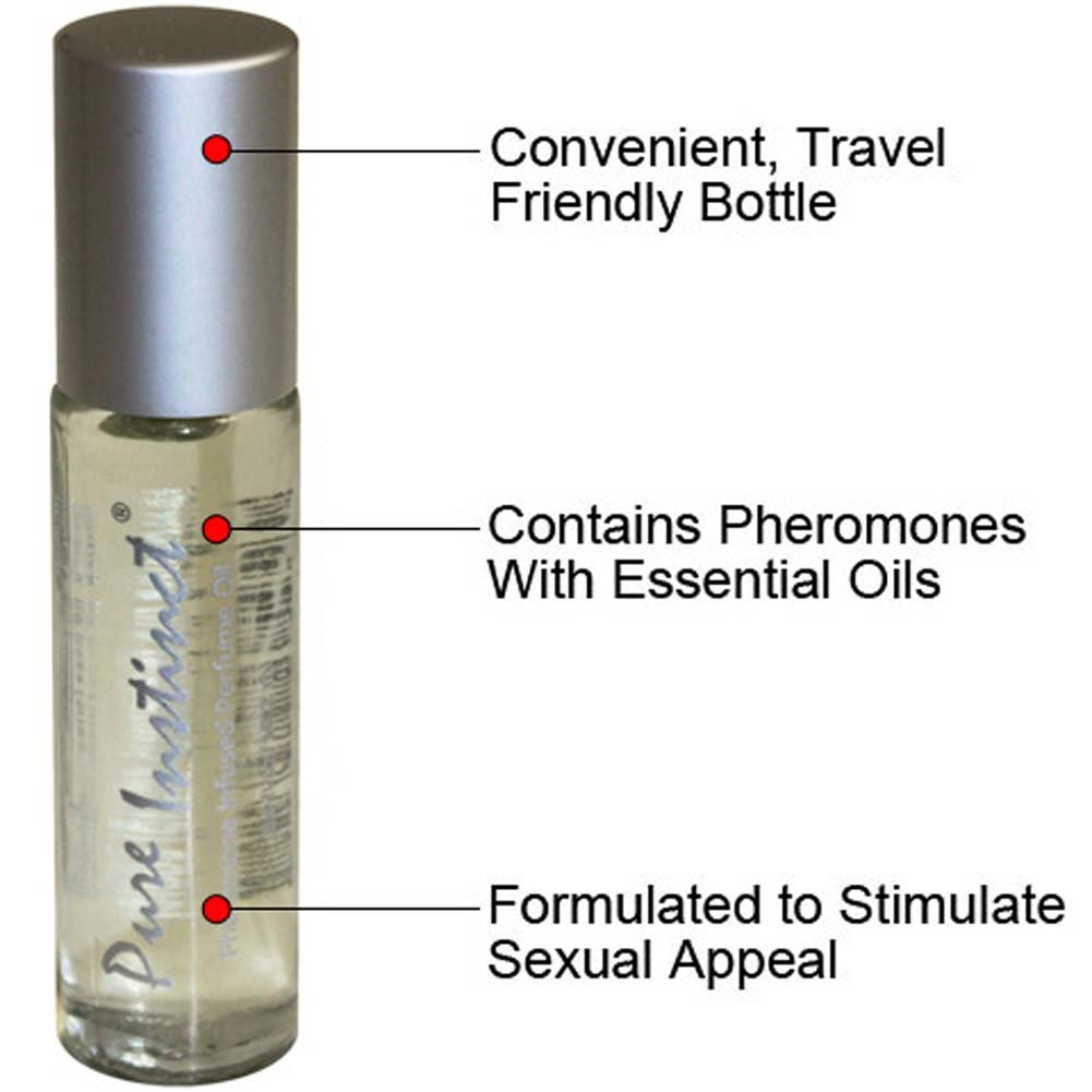 Pure Instinct Roll-On Sex Attractant Cologne and OptiSex Clear Joy Premium Lube 4 Fl. Oz. - View #1