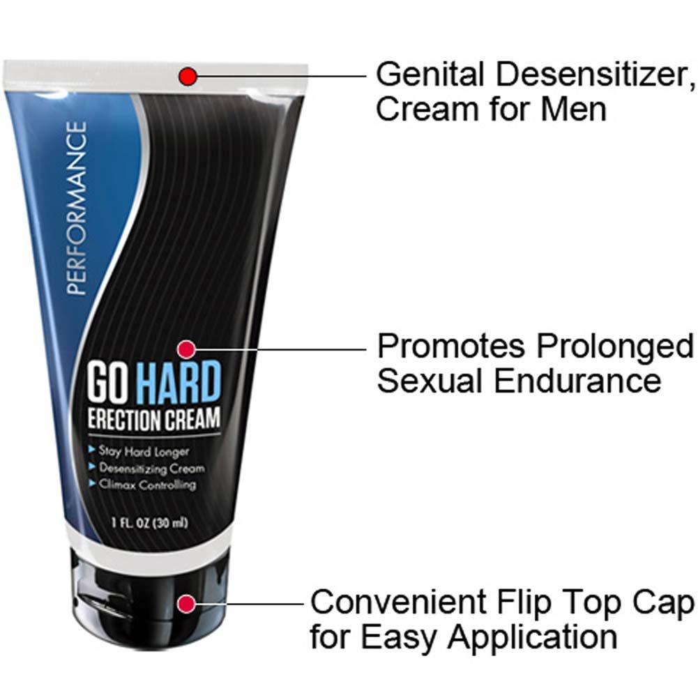 Blush Performance Go Hard Erection Cream 1 Fl. Oz. - View #1