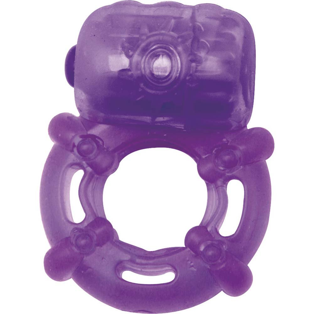 Climax Juicy Rings - Vibrating Cockring Purple - View #2