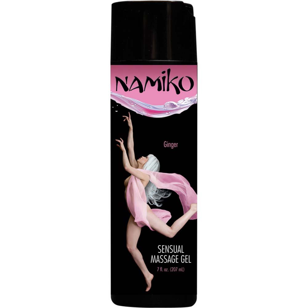 Namiko Sensual Massage Gel Ginger 7 Fl. Oz. - View #1