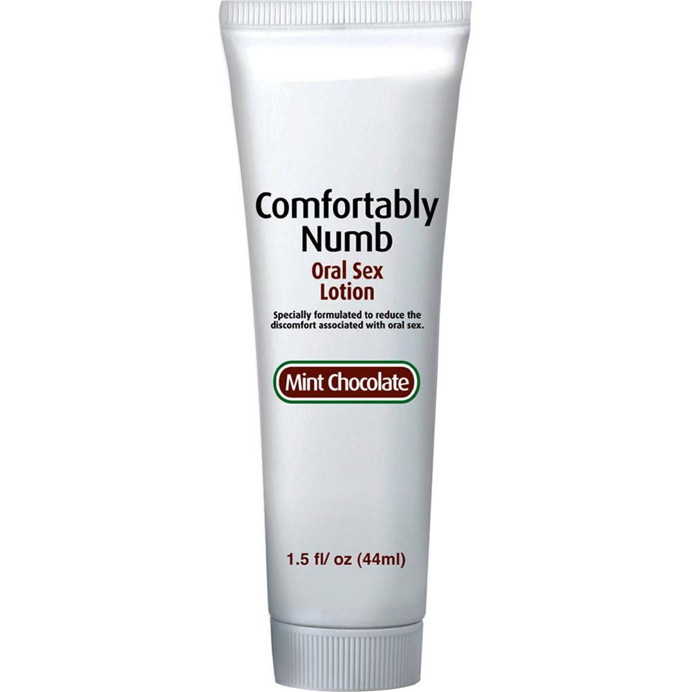 Comfortably Numb Oral Sex Lotion Mint Chocolate 1.5 Fl. Oz. - View #2