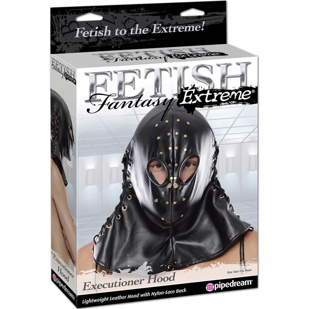 Fetish Fantasy Extreme Executioner Hood Black - View #1