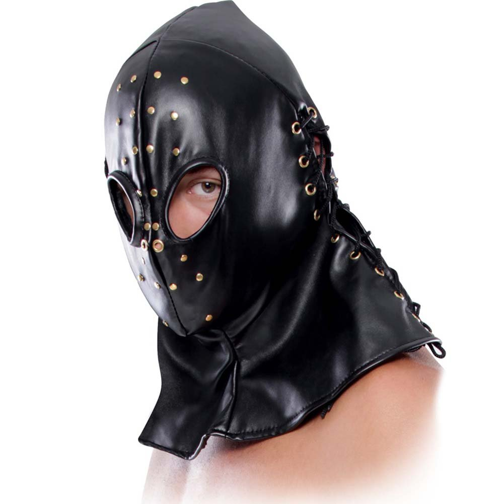 Fetish Fantasy Extreme Executioner Hood Black - View #3