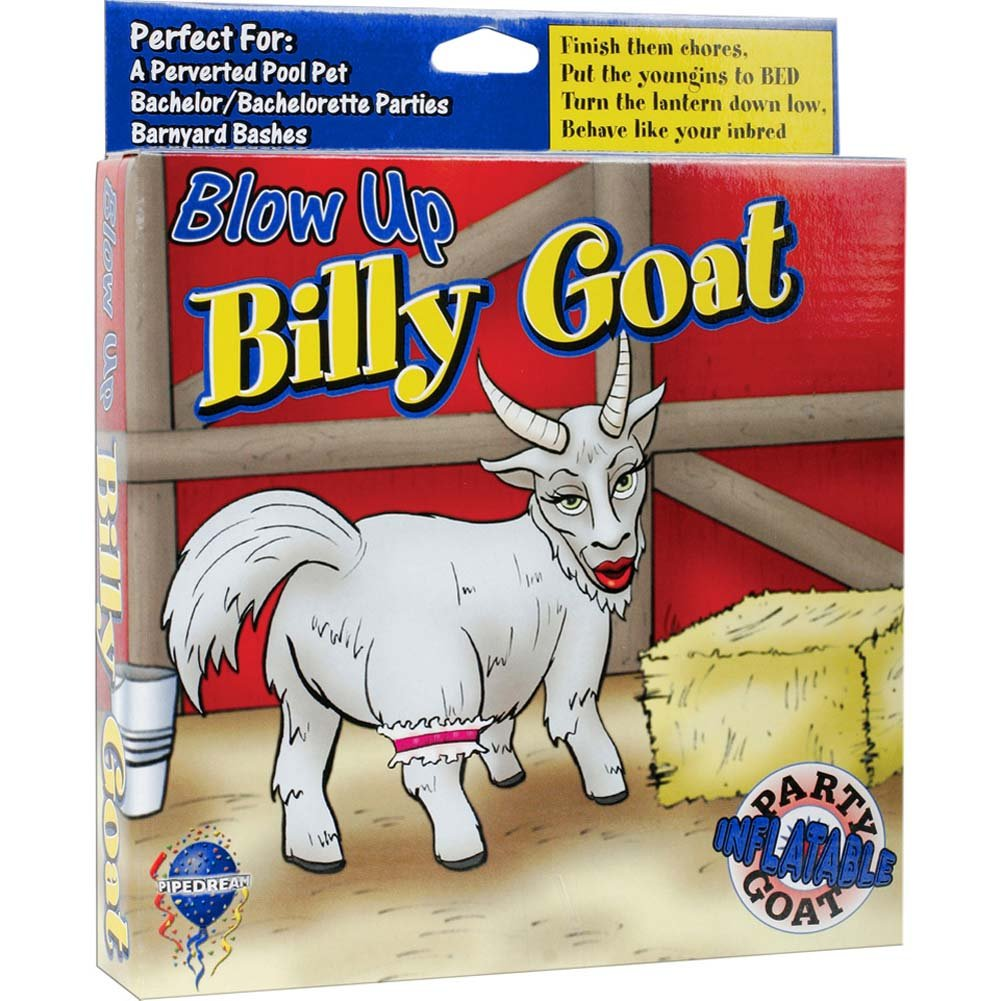 Blow Up Billy Goat Inflatable Party Doll - View #1