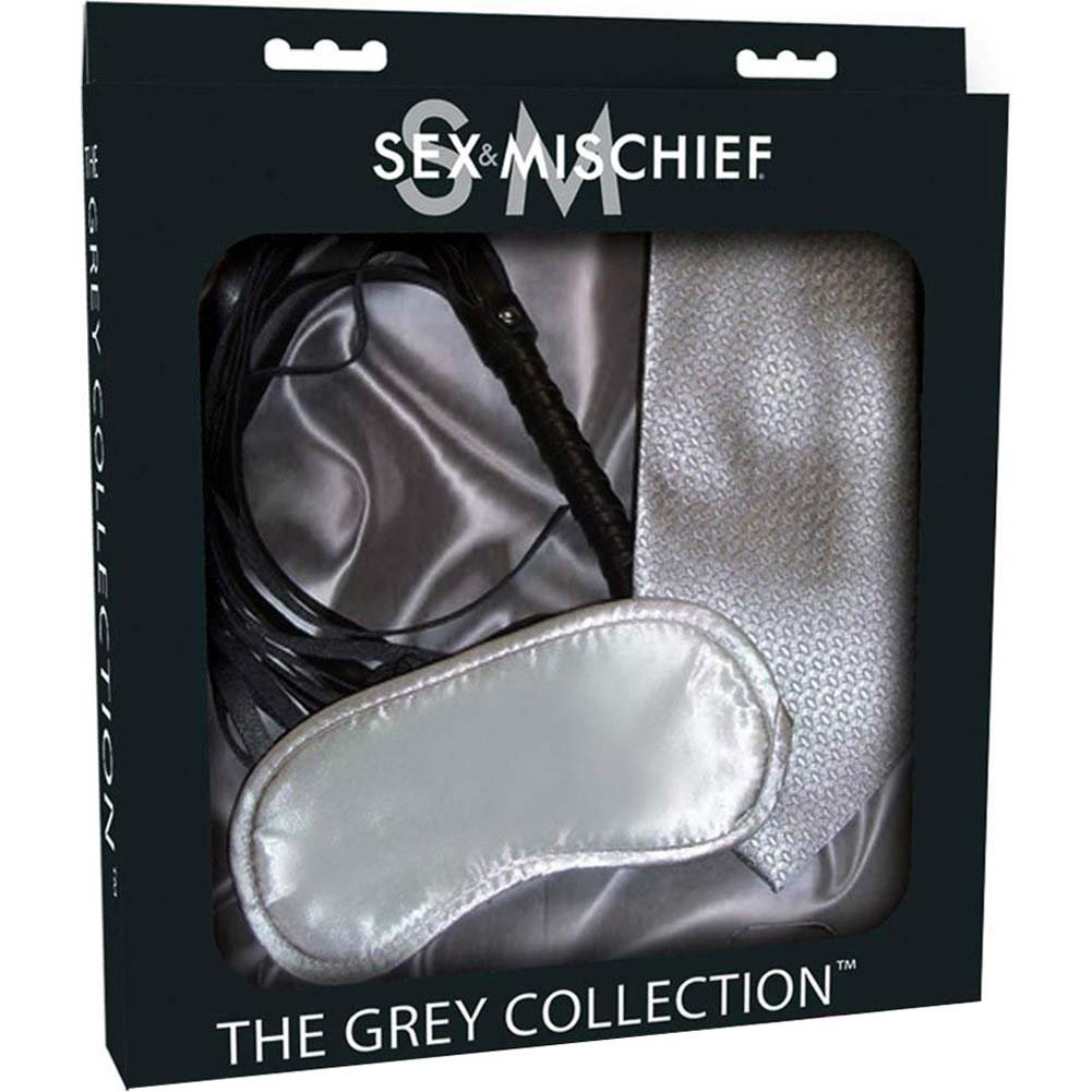 Sex and Mischief SM Grey Collection Tie Me Up Kit - View #1