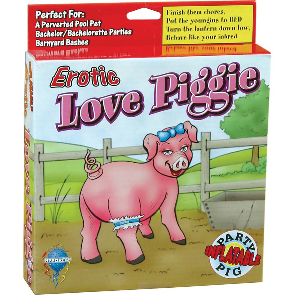 Erotic Love Piggie Blow-Up Inflatable Party Doll - View #1