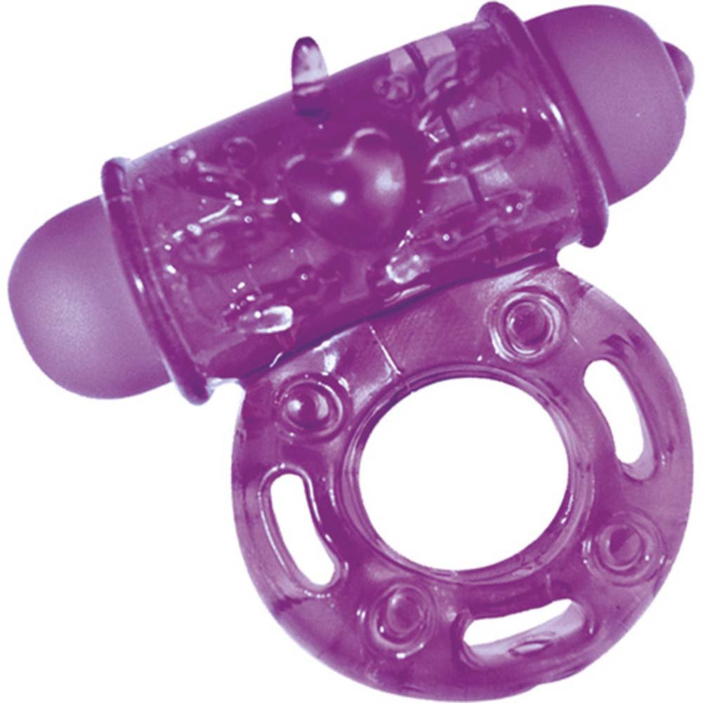 Hero Dynamic Scream Maker Vibrating Ring Purple - View #2