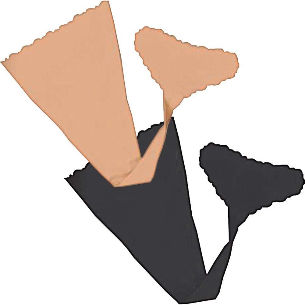 Hush Strapless Panties Small/Medium Nude/Black - View #1