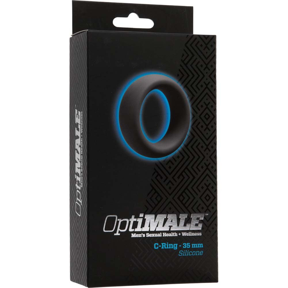 OptiMALE Silicone C-Ring 35 Mm Thick Slate - View #1