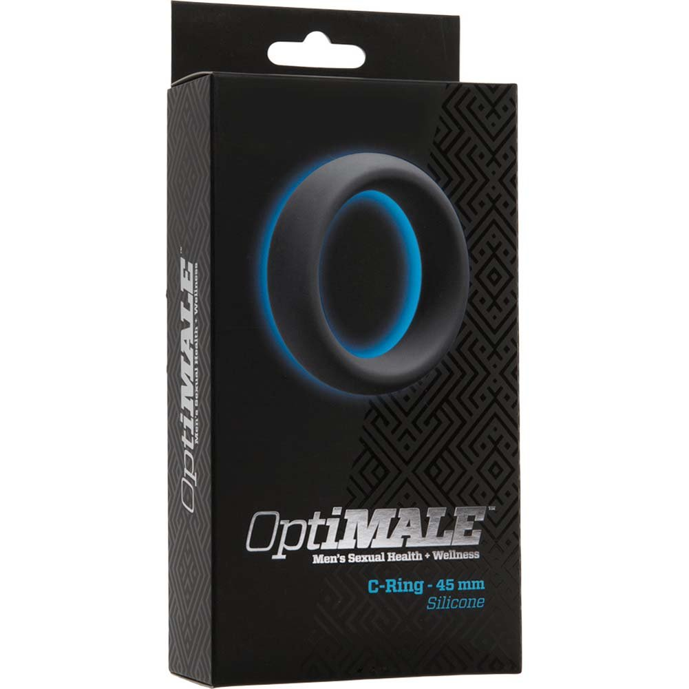 OptiMALE Silicone C-Ring 45 Mm Thick Slate - View #1