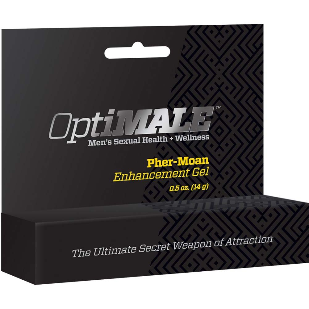 OptiMALE Pher-Moan Enhancement Gel .5 Oz. - View #1