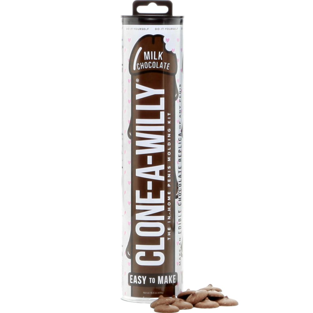 Clone A Willy Do It Yourself Milk Chocolate Edible Dildo Kit - View #2