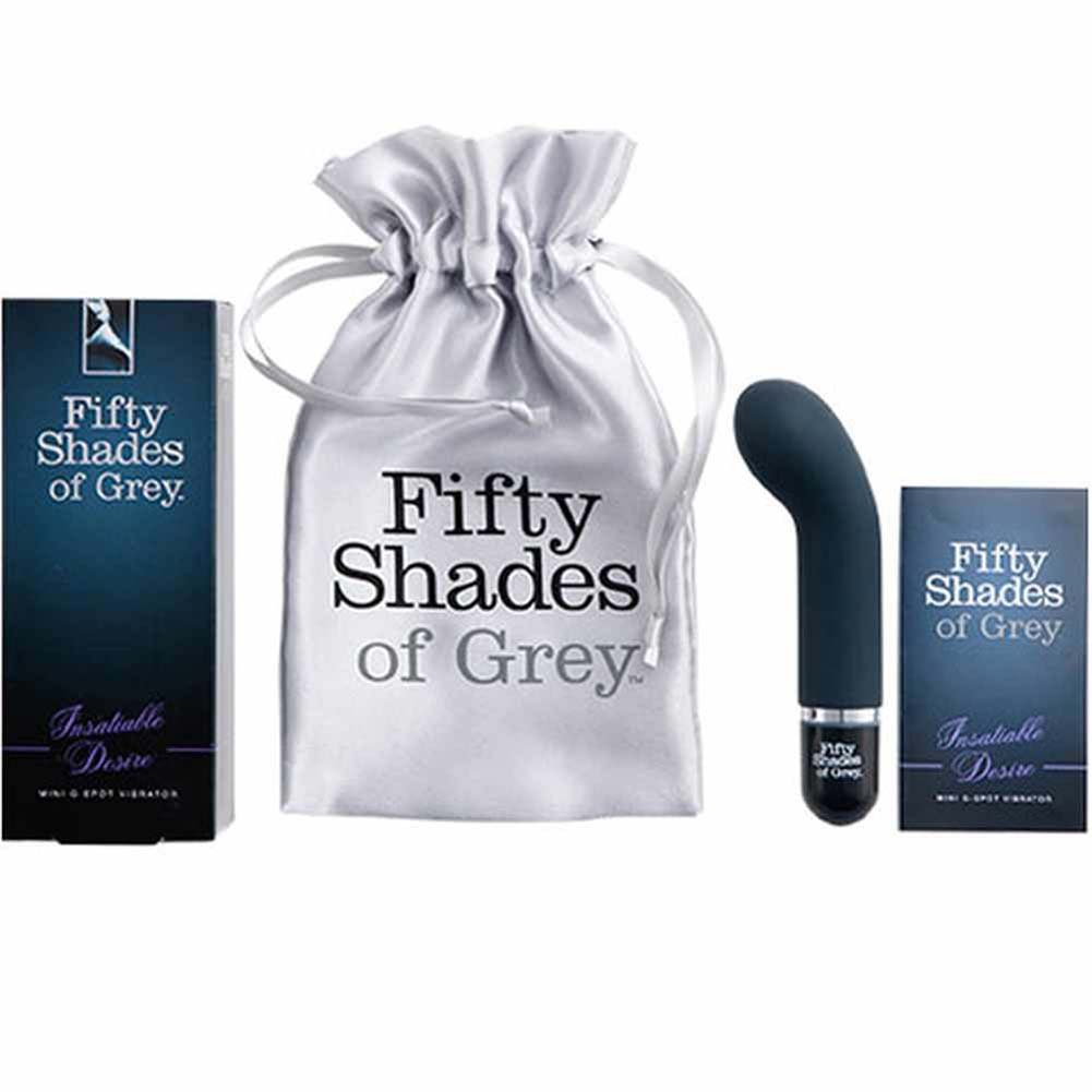 "Fifty Shades of Grey Insatiable Desire Mini G-Spot Vibe 5.5"" - View #1"