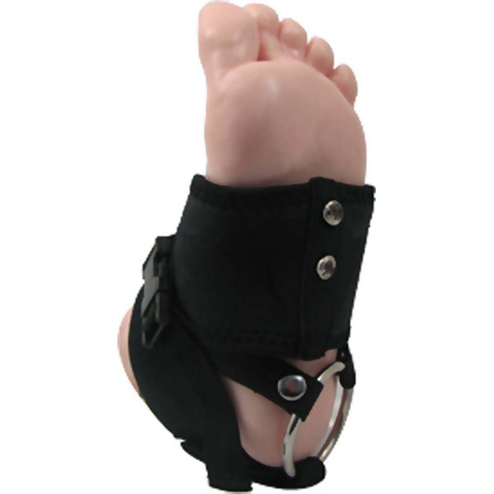 Heeldo Strap-On Harness for Your Foot Sm-Md Black - View #2