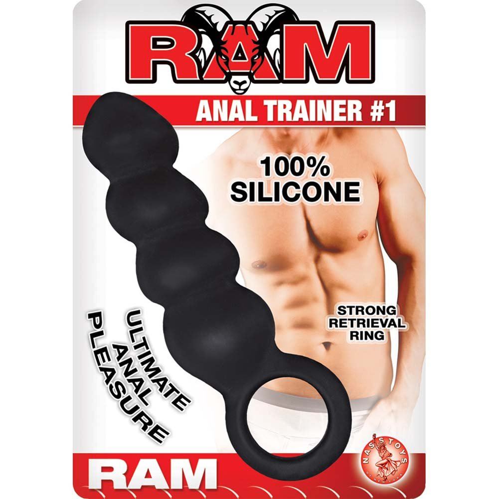 "Ram Anal Trainer 1 Anal Probe 5.5"" Black - View #1"