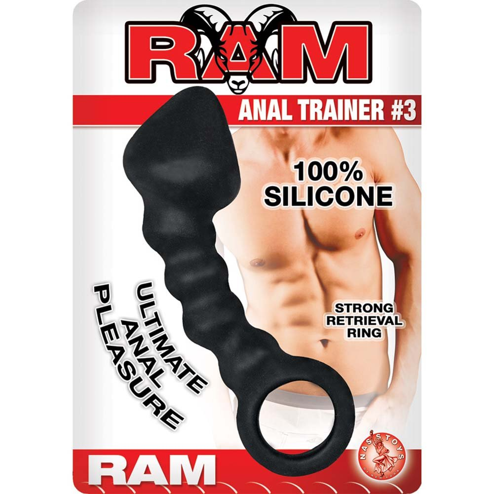 "Ram Anal Trainer 3 Anal Probe 5"" Black - View #1"