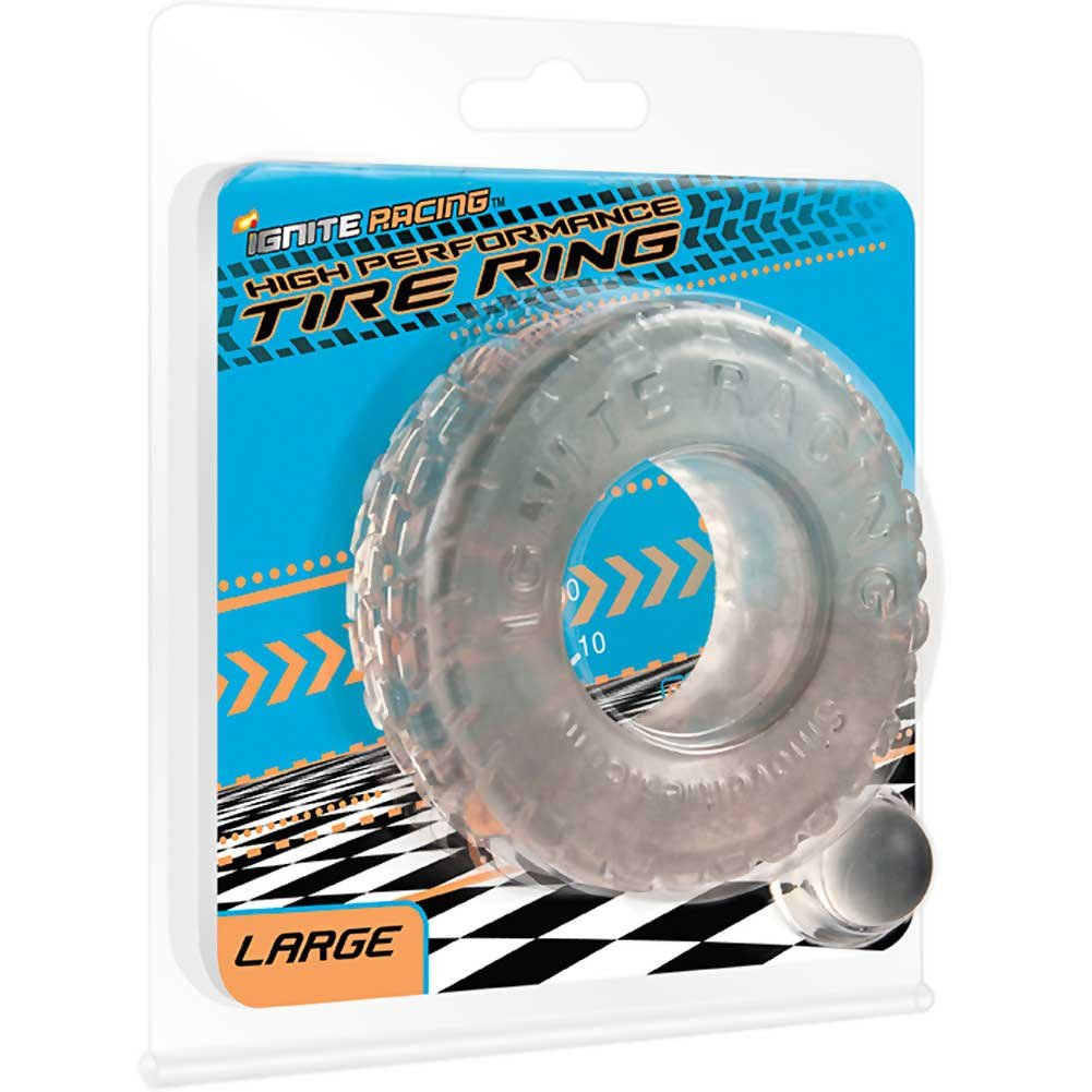 "Ignite High Performance Tire Ring Large 2.25"" Clear - View #1"