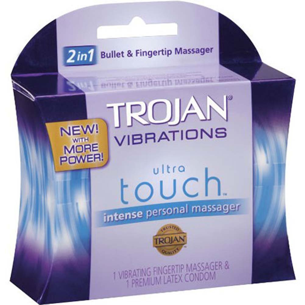 Trojan Vibrations Ultra Touch Bullet and Fingertip Massager - View #4