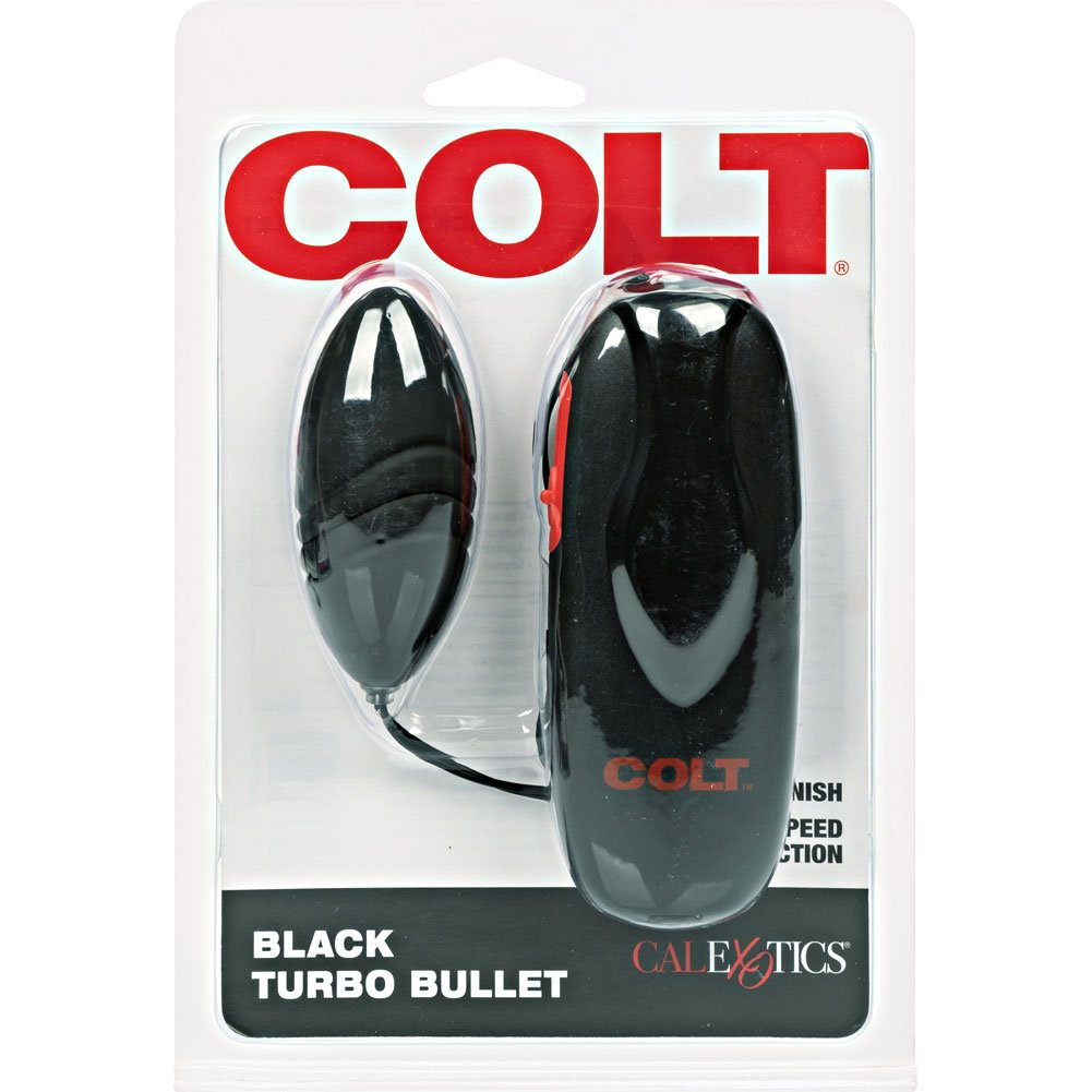 "COLT by CalExotics Vibrating Turbo Bullet Stimulator 3"" Black - View #4"