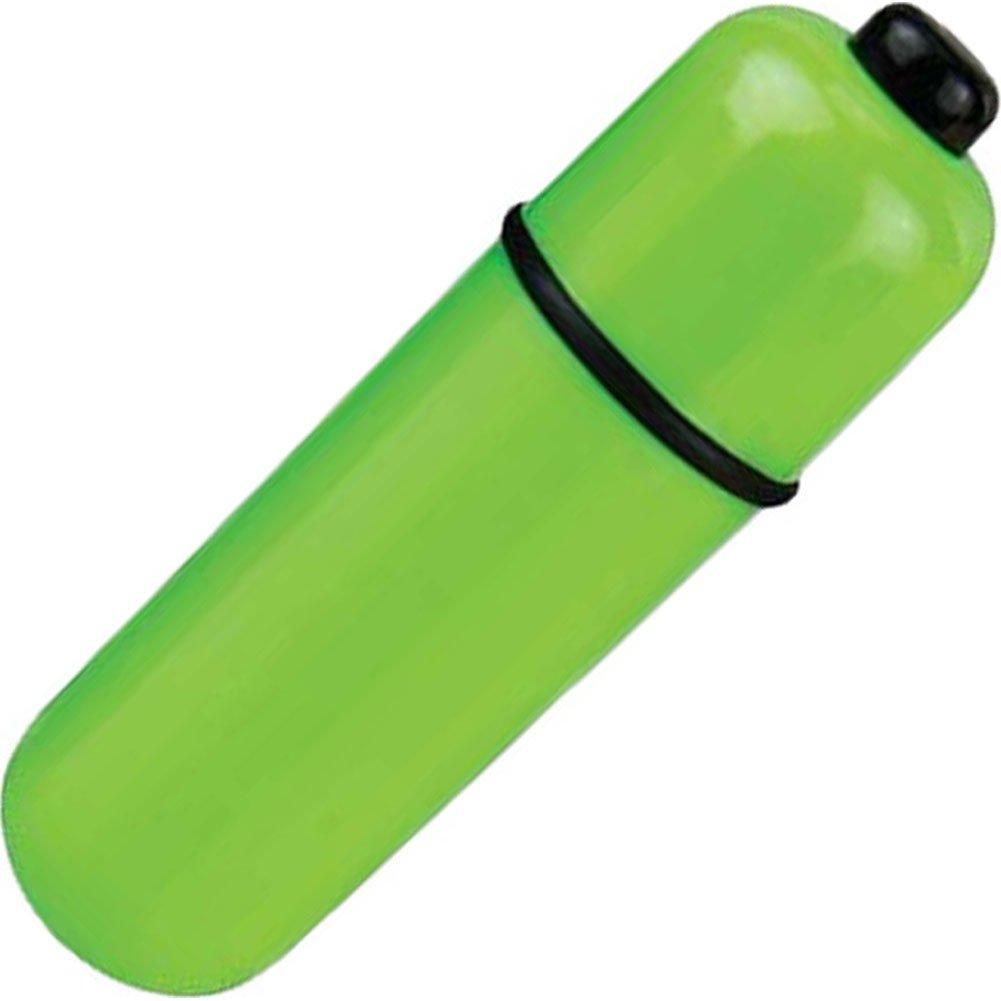 Screaming O ColorPoP 3 Speed Waterproof Vibrating Bullet Green - View #2