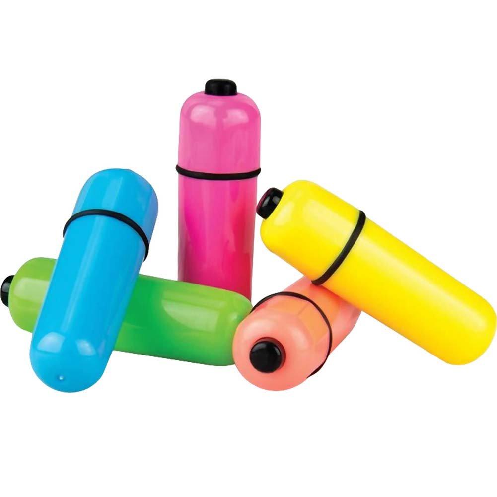 Screaming O ColorPoP 3 Speed Waterproof Vibrating Bullet Orange - View #3