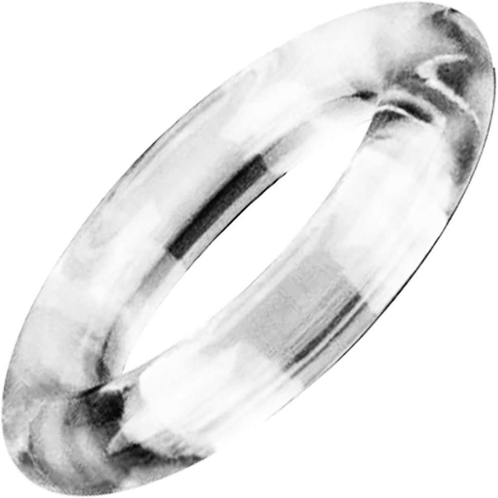 Screaming O Ringo XL Silicone Cockring Clear - View #2