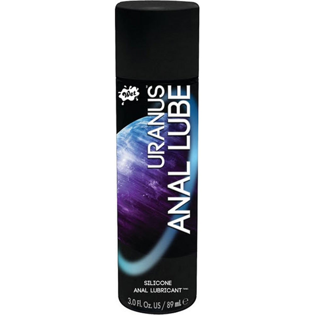 Wet Uranus Silicone-Based Anal Lubricant 3.1 Oz. - View #1