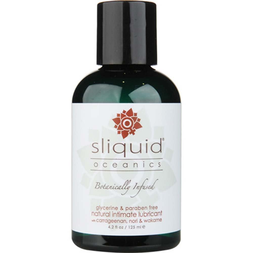 Sliquid Oceanics Organics Intimate Lubricant 4.2 Fl. Oz. - View #1