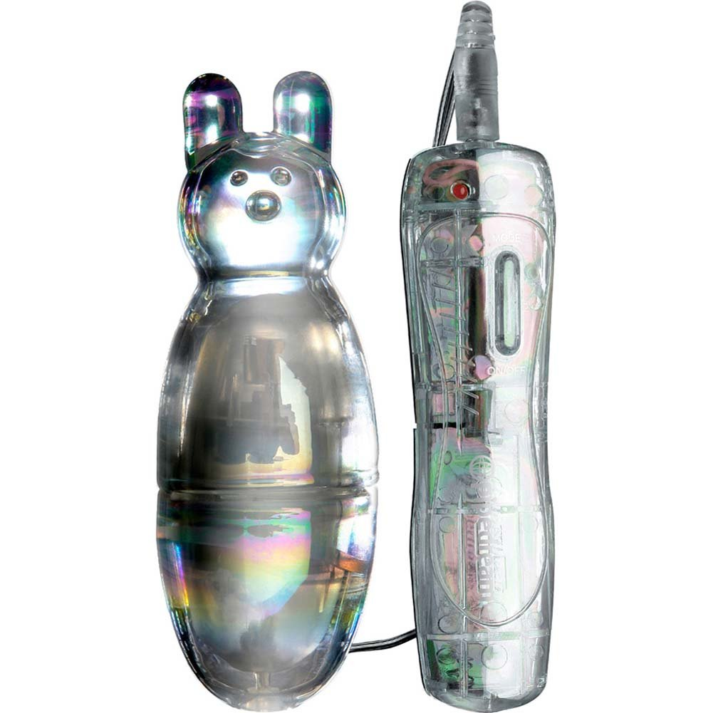 """Icicles No. 33 10-Function Vibrating Glass Teaser 4"""" Clear - View #2"""