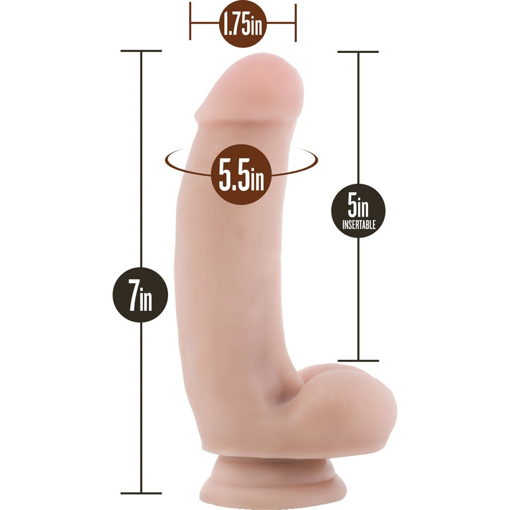 "Blush Loverboy the Pizza Boy Dildo 7"" Natural - View #1"