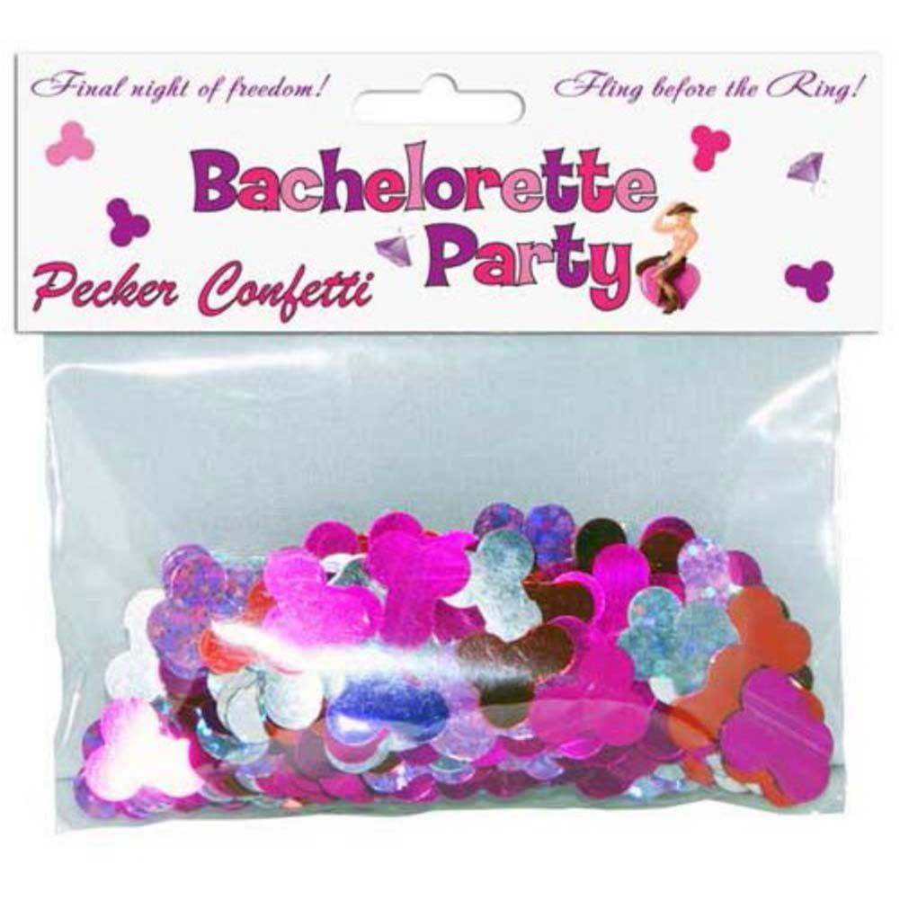 Bachelorette Pecker Confetti - View #1