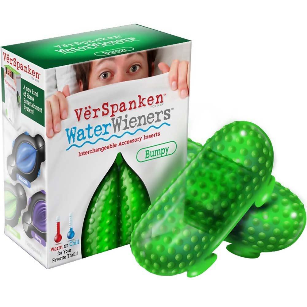 VerSpanken Water Wieners Masturbator Bumpy Green - View #1