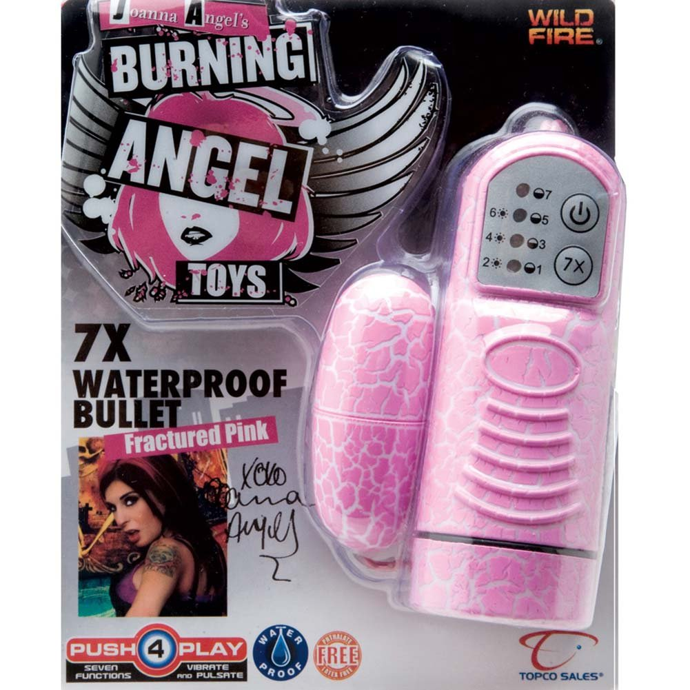 Wildfire Joanna Angel 7X Waterproof Bullet Fractured Pink - View #2