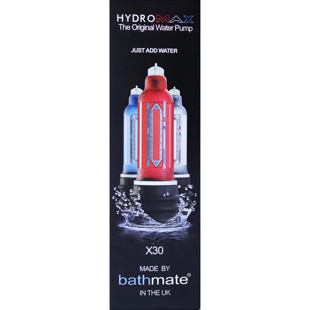 Bathmate Hydromax X30 Penis Enlargement Pump for Men Crystal Clear - View #3