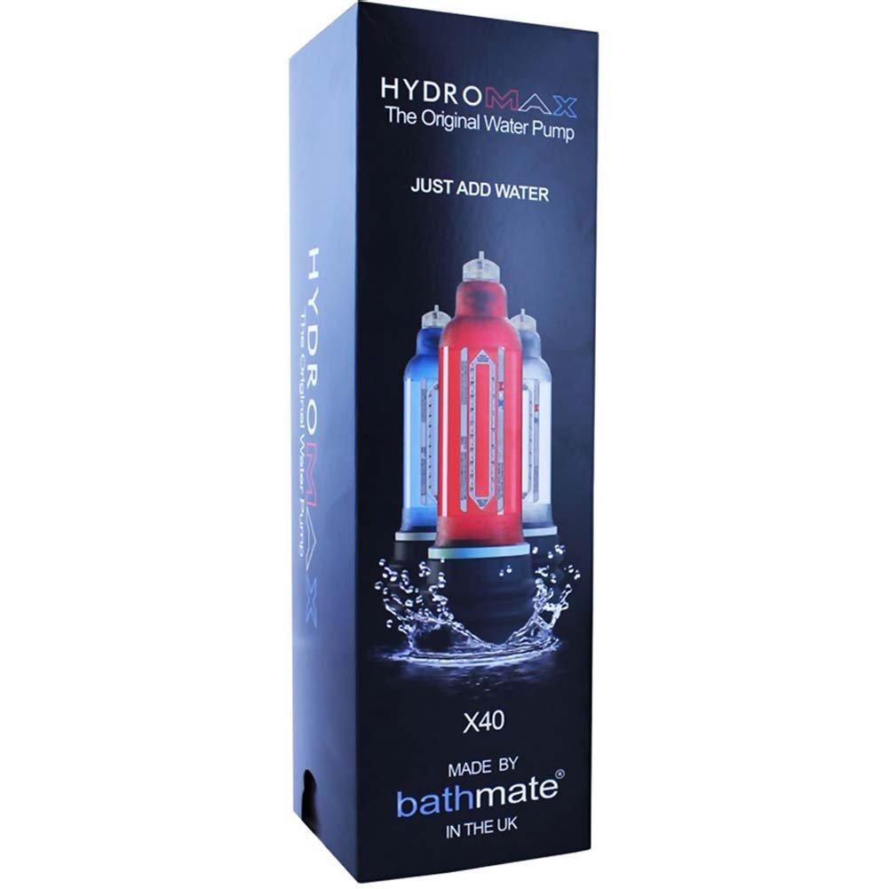 Bathmate Hydromax X40 Penis Enlargement Pump for Men Crystal Clear - View #3