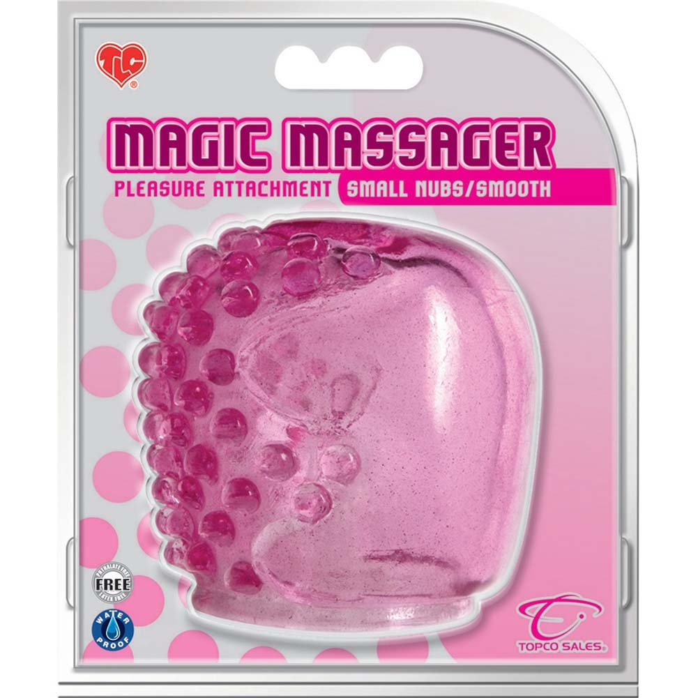Magic Massager Pleasure Attachment Small Nubs Smooth Pink - View #3