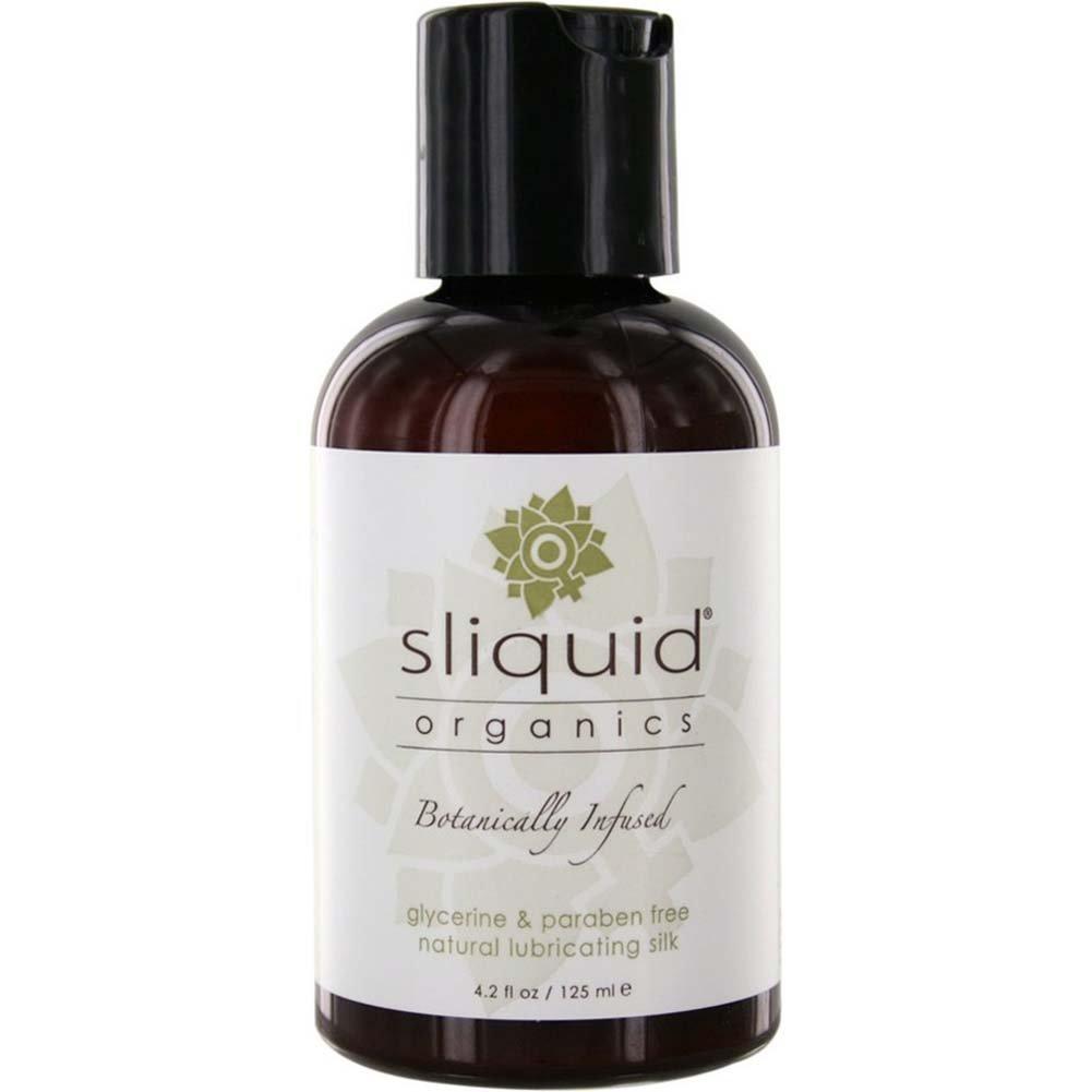 Sliquid Organics Silk Hybrid Water and Silicone Based Lubricant 4.2 Fl.Oz 125 mL - View #1