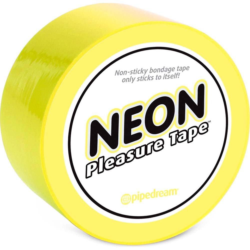 Neon Pleasure Tape Yellow - View #2