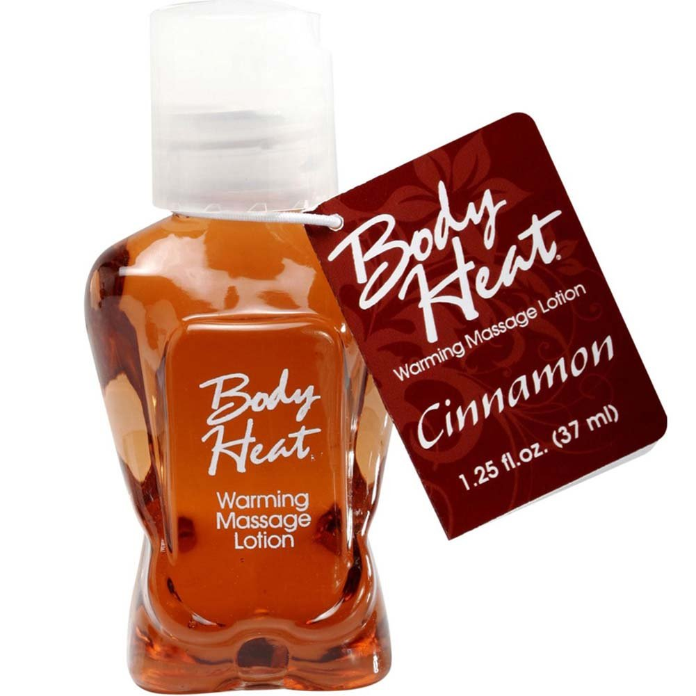 Body Heat Warming Massage Lotion 1.25 Fl.Oz 37 mL Cinnamon - View #1
