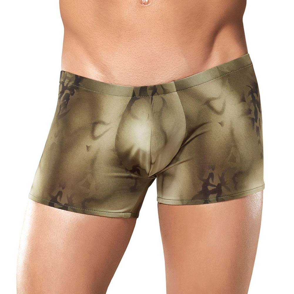 Male Power Skyview Pouch Short Extra Large Olive - View #2