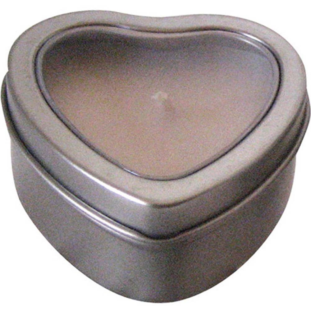 Hearts Massage Oil Candle Tropical Rain 2 Fl. Oz. - View #1