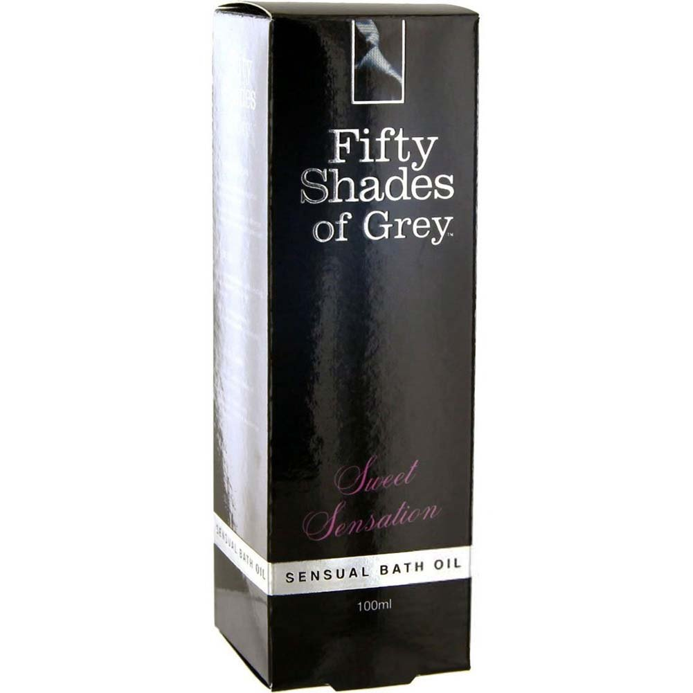 Fifty Shades of Grey Sweet Sensation Bath Oil 3.4 Fl.Oz 100 mL - View #1