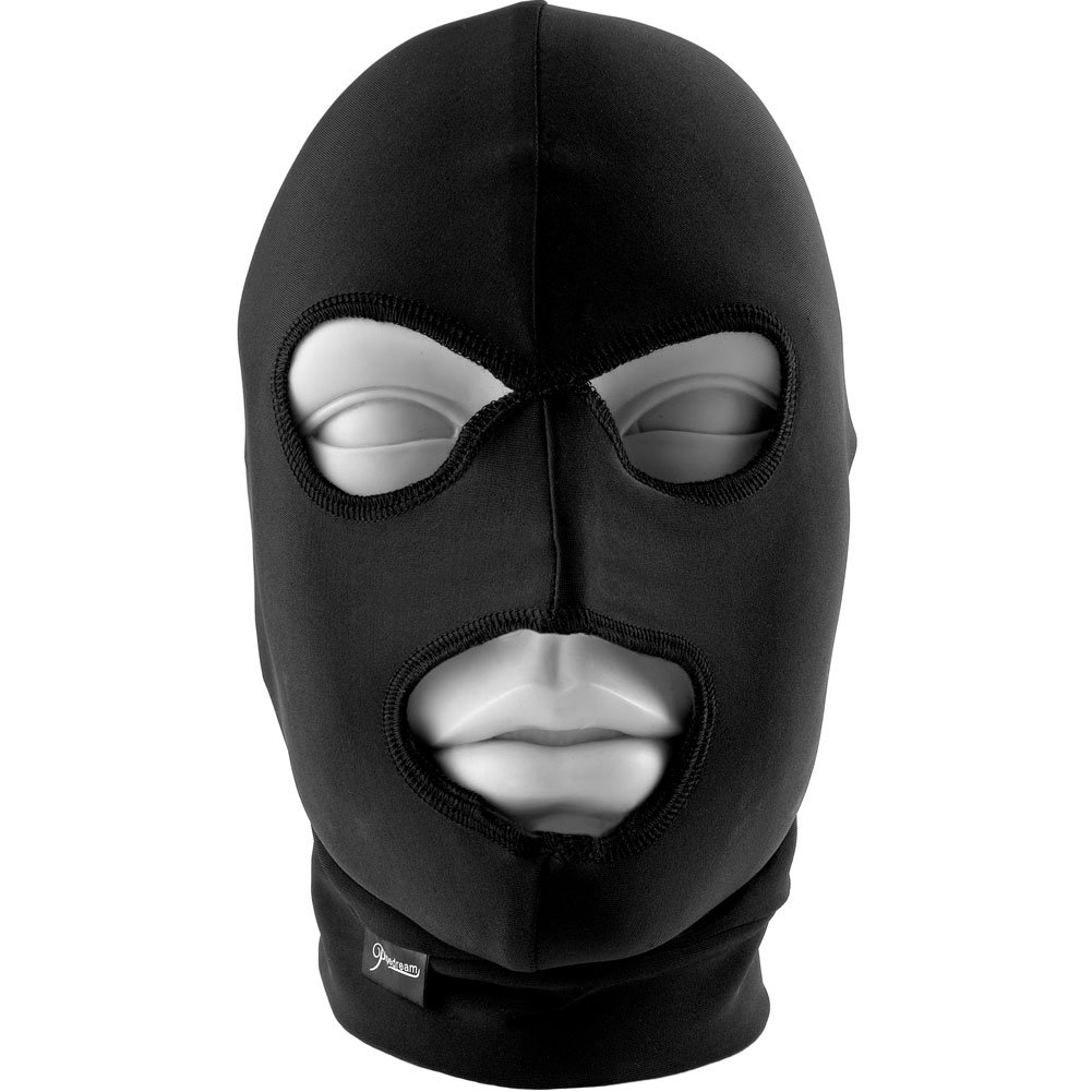 Fetish Fantasy Limited Edition Spandex Hood Black - View #1