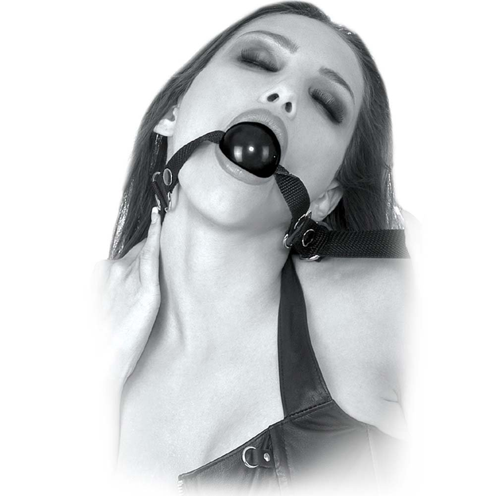 Fetish Fantasy Limited Edition Beginners Ball Gag Black - View #2