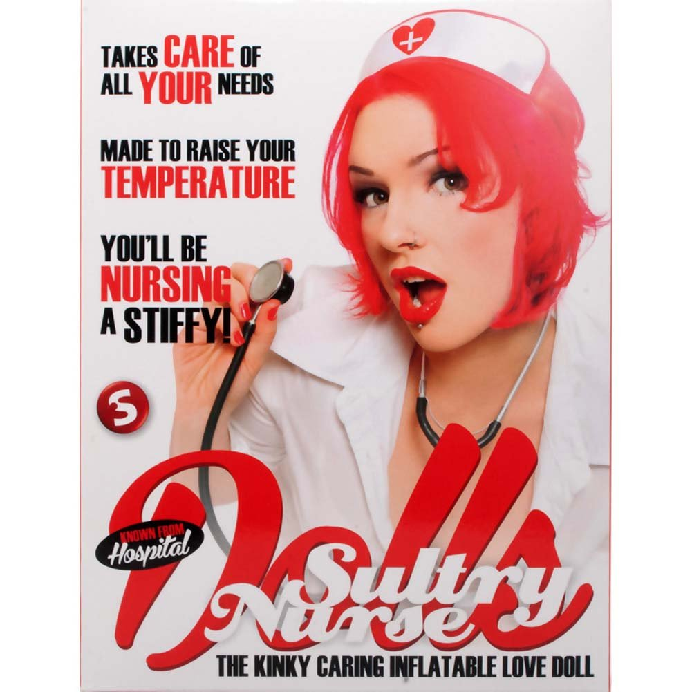 Sultry Nurse Inflatable Love Doll - View #2