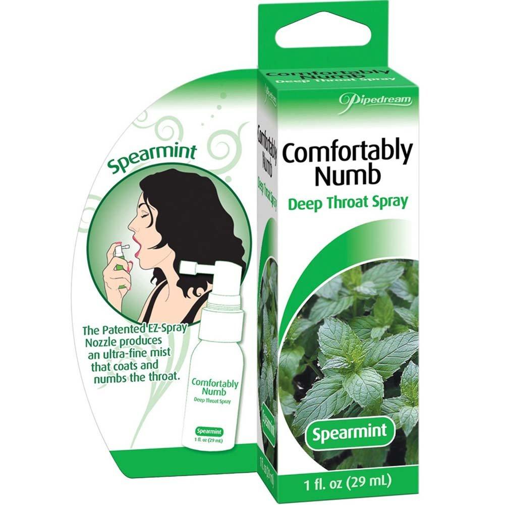 Comfortably Numb Deep Throat Spray 1 Fl.Oz 29 mL Spearmint - View #1