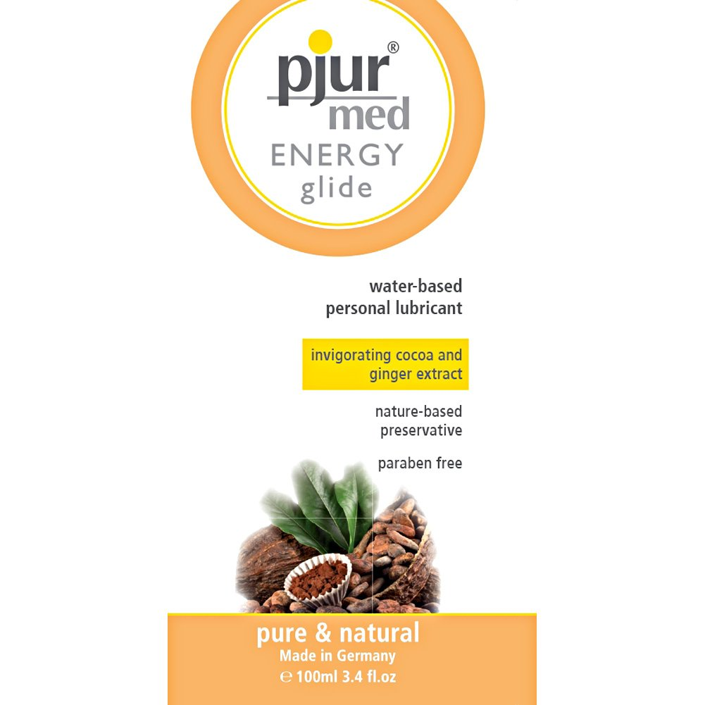 Pjur Med Energy Glide Invigorating Water Based Lube 3.4 Fl.Oz 100 mL - View #1