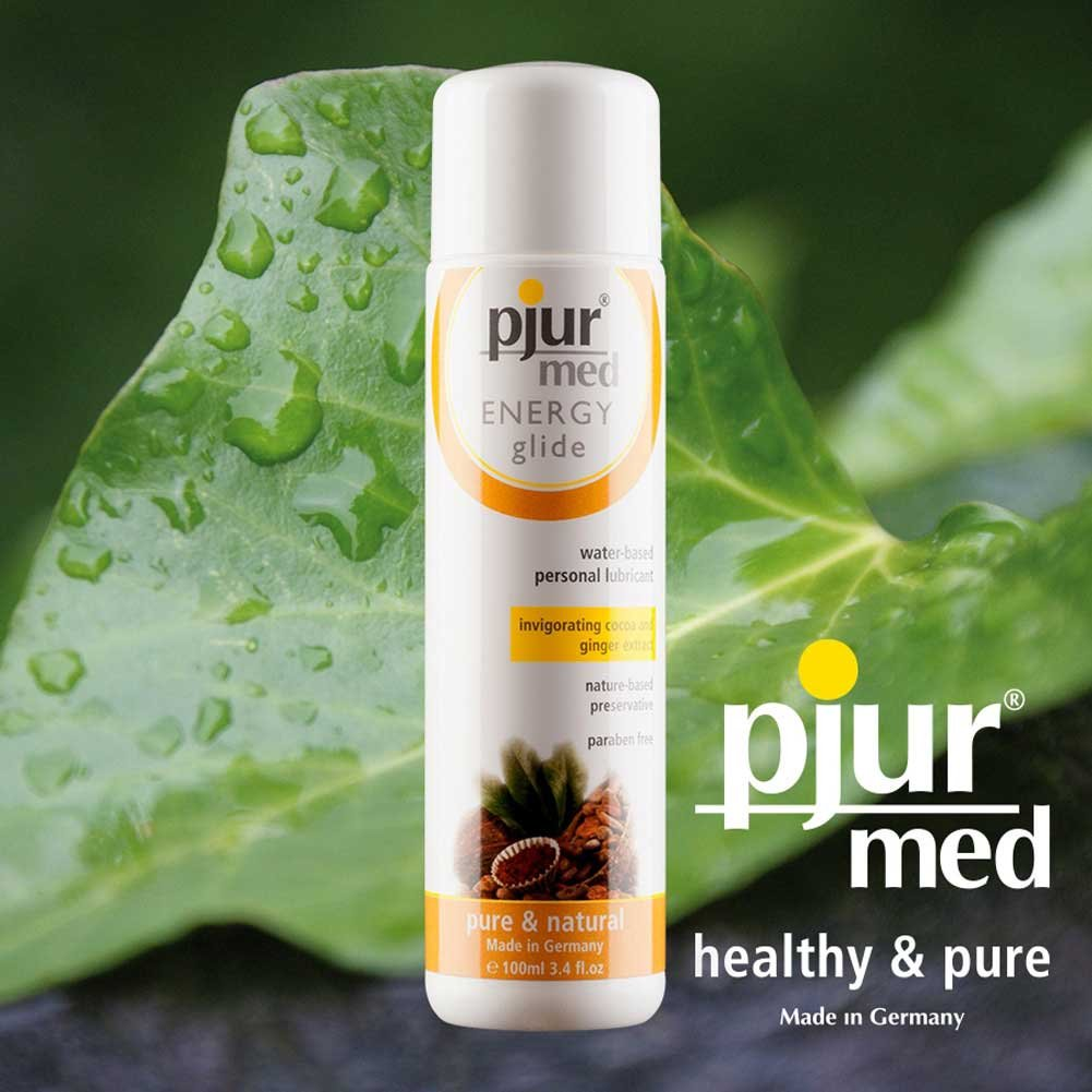 Pjur Med Energy Glide Invigorating Water Based Lube 3.4 Fl. Oz. - View #3